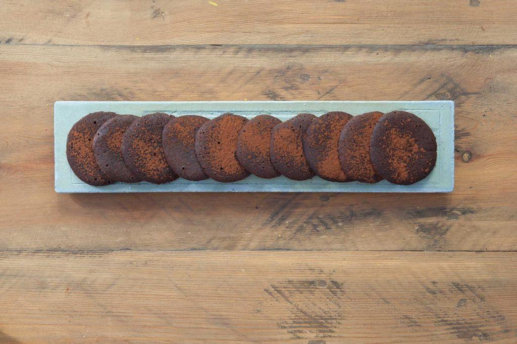 foto di cibo biscotti al cioccolato